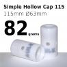 Simple Hollow Cap 115