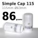 Simple Cap 115