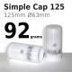 Simple Cap 125
