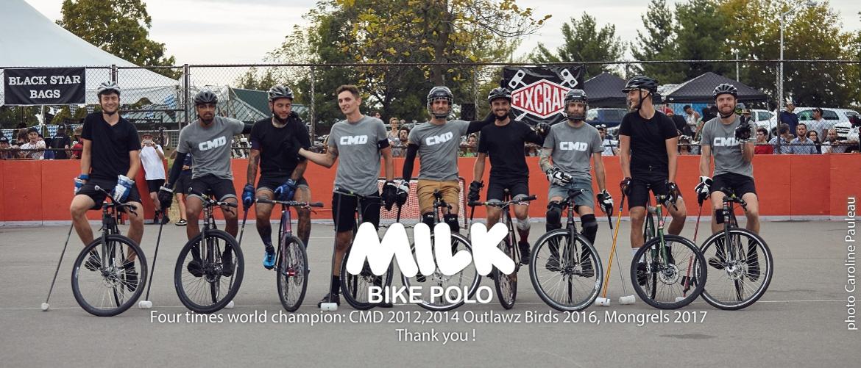 2017 World finalist - The MILK team FTW !