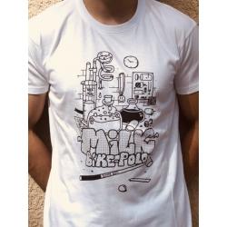 Bike polo theories tshirt